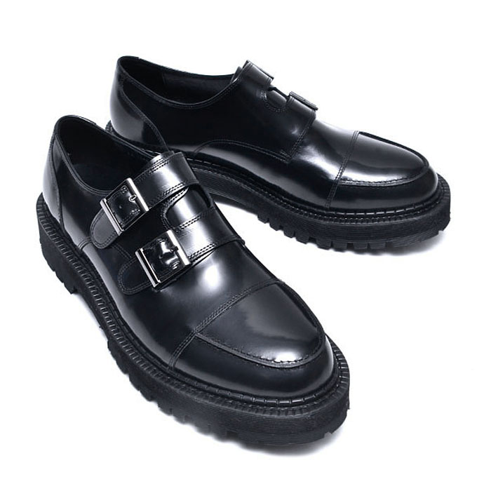Boots Sole Double Monk-Shoes 683