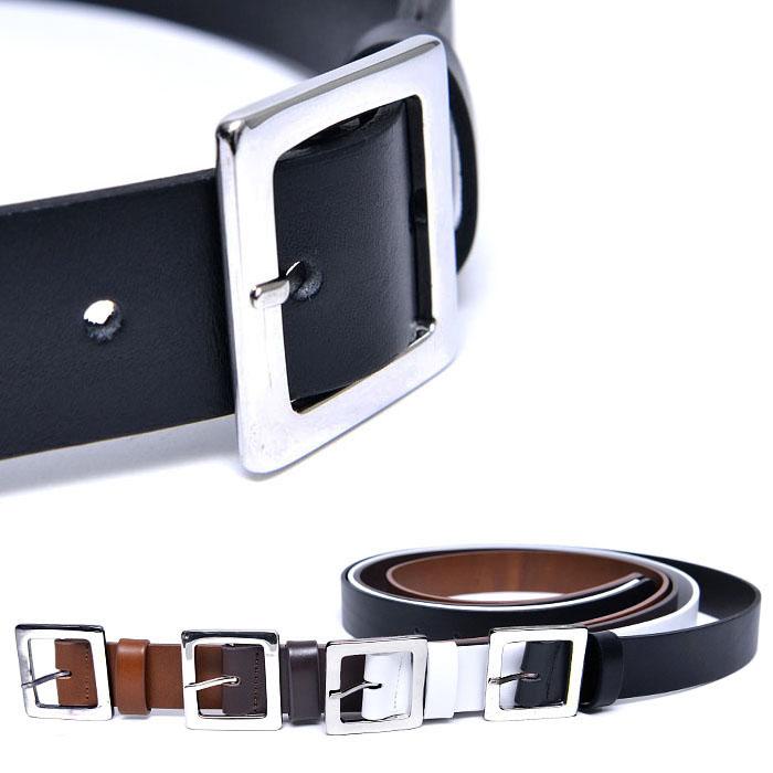 Sleek Square Dress-Belt 185