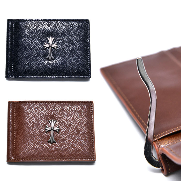 Gothic Cross Money Clip-Wallet 25