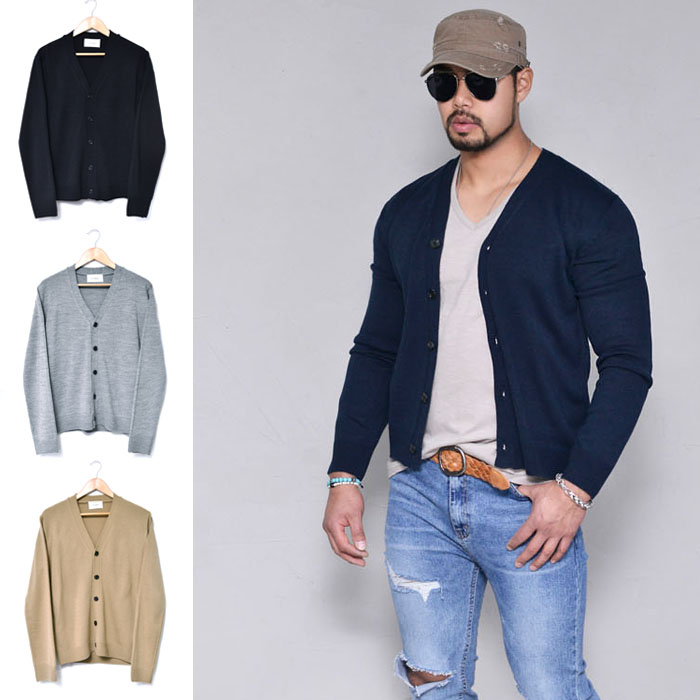 Daily Light-weight Short Sweater-Cardigan 261
