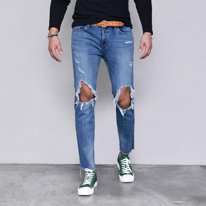 Power Destroy Super Fit Slim-Jeans 450