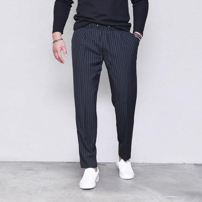 Striped Span Banding-Pants 412