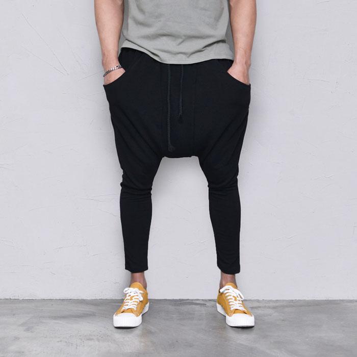 Soft Drop Crotch Baggy-Pants 423
