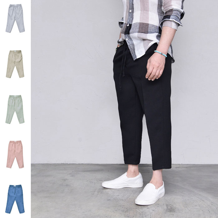Daily Comfy Crop Banding-Pants 427