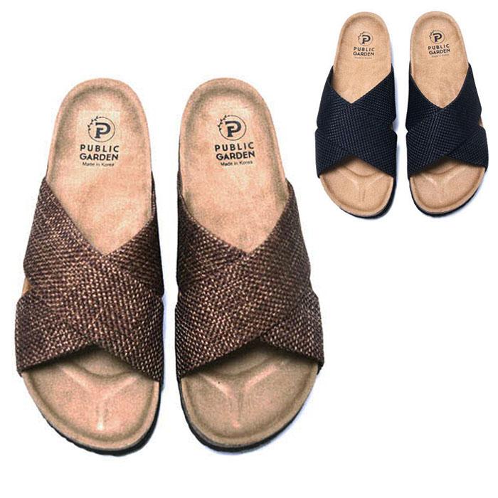 X Waffle Cross Sandals-Shoes 717
