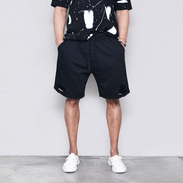 Damage washing Sweats-Shorts 196