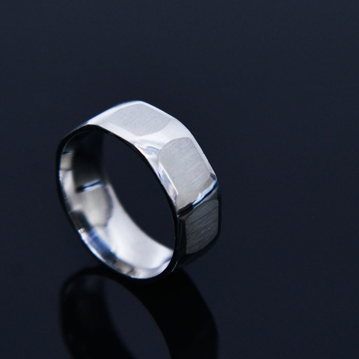 Octangle Steel Ring-Ring 93