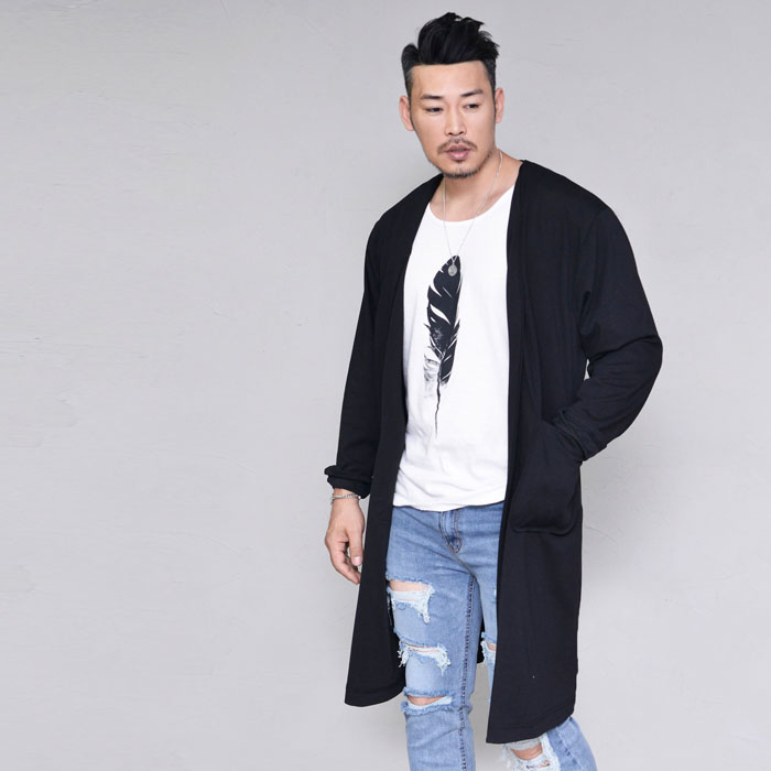 Cool Overfit Long Jacket-Cardigan 278