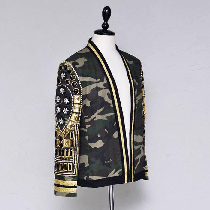 Camo Amethyst Jewel Blazer-Jacket 361
