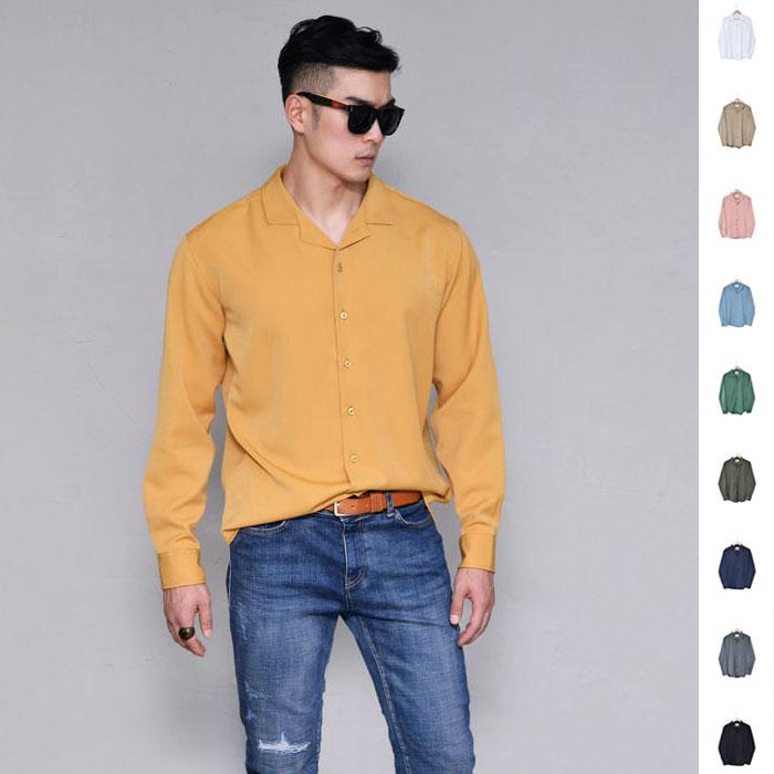Retro Laid-back Pajama Shirt-Shirt 272