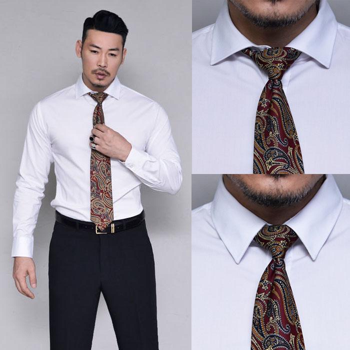 Two Type Collar Basic Dress-Shirt 275