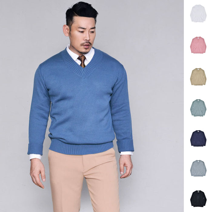 Dandy Comfy V Sweater-Knit 227