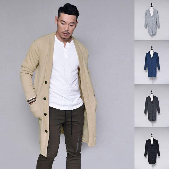 Modern Slim Daily Long Sweater-Cardigan 284