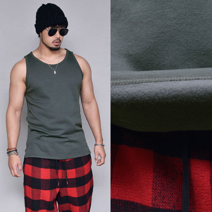 Winter Fleece Box Tanktop-Tank 241