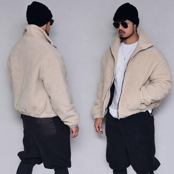 Thick Dumble Shearling Padding-Jacket 385
