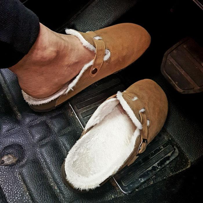 Full Rich Fur Sandals-Shoes 782