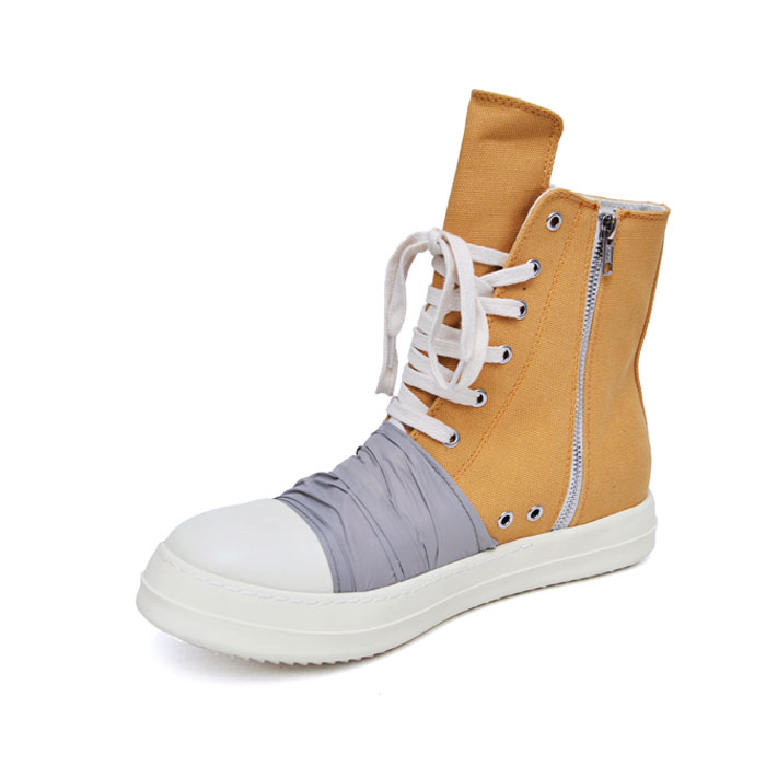Contrast Wrap & Toe Hightop-Shoes 785