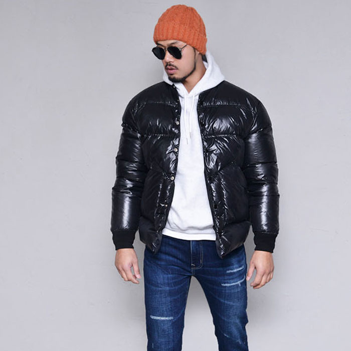Duckdown No Collar Padding-Parka 113