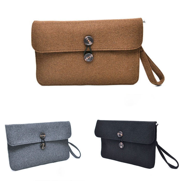 Woolen Hard Pouch-Bag 215