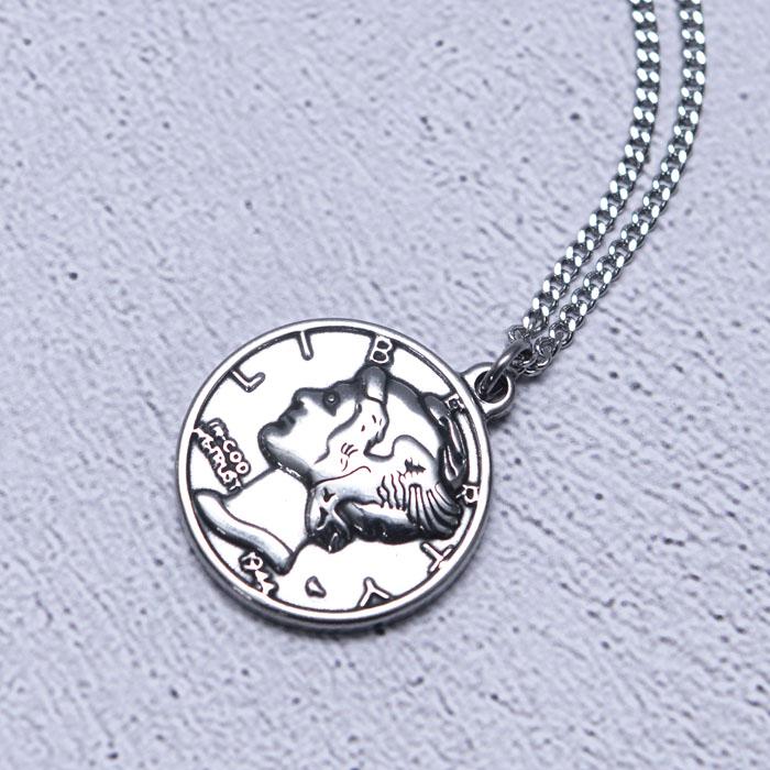 Lucky Liberty Coin-Necklace 375
