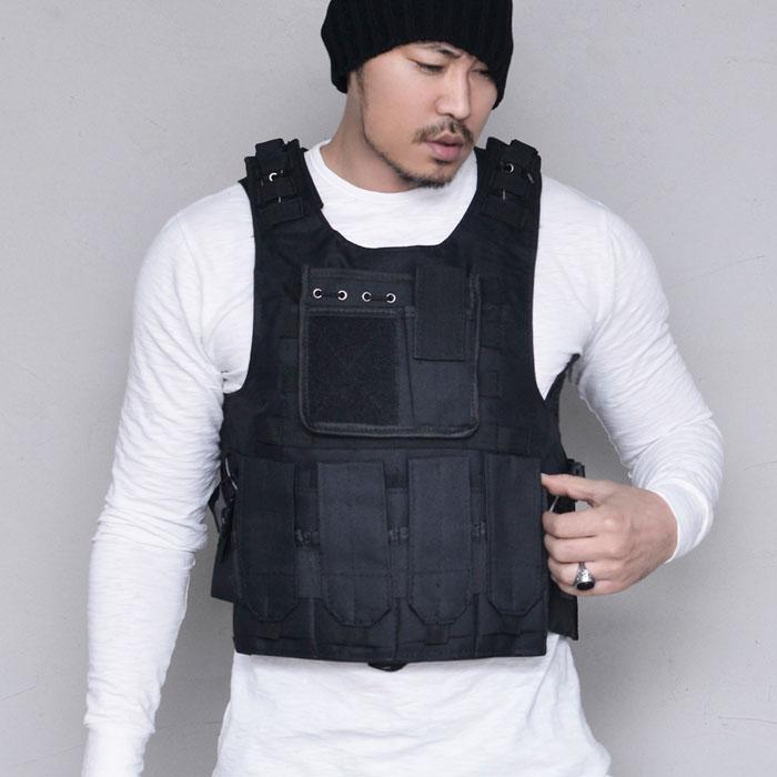 Techwear Armor Short Vest-Vest 160