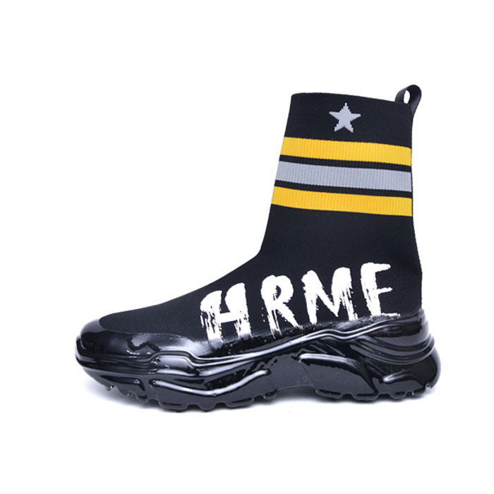 Funky Street Sock Ankle-Shoes 798