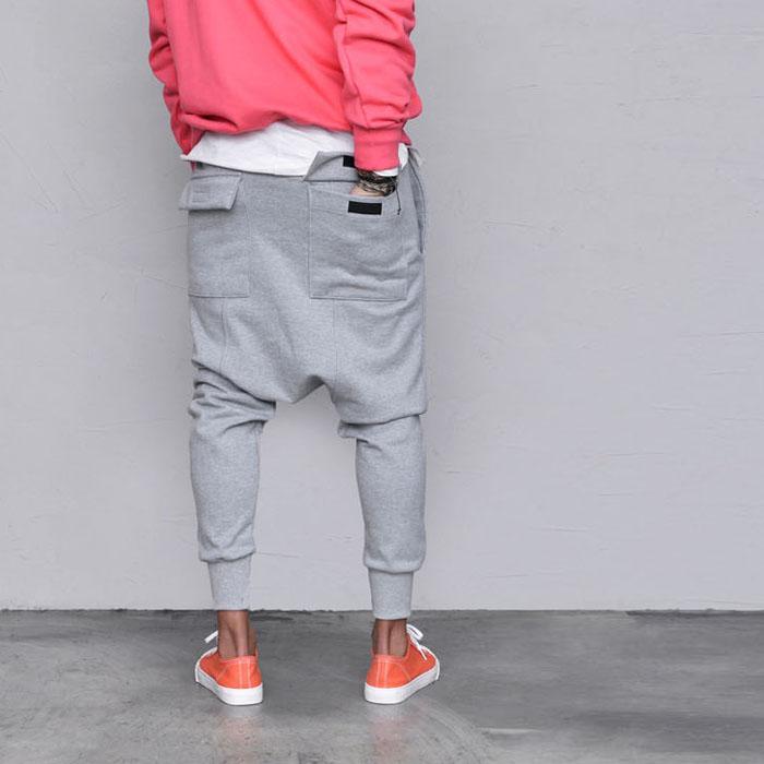 Flap Pocket Baggy Jogger-Sweatpants 420