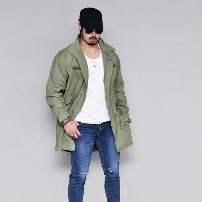 M51 Camp Military Fishtail-Jacket 402