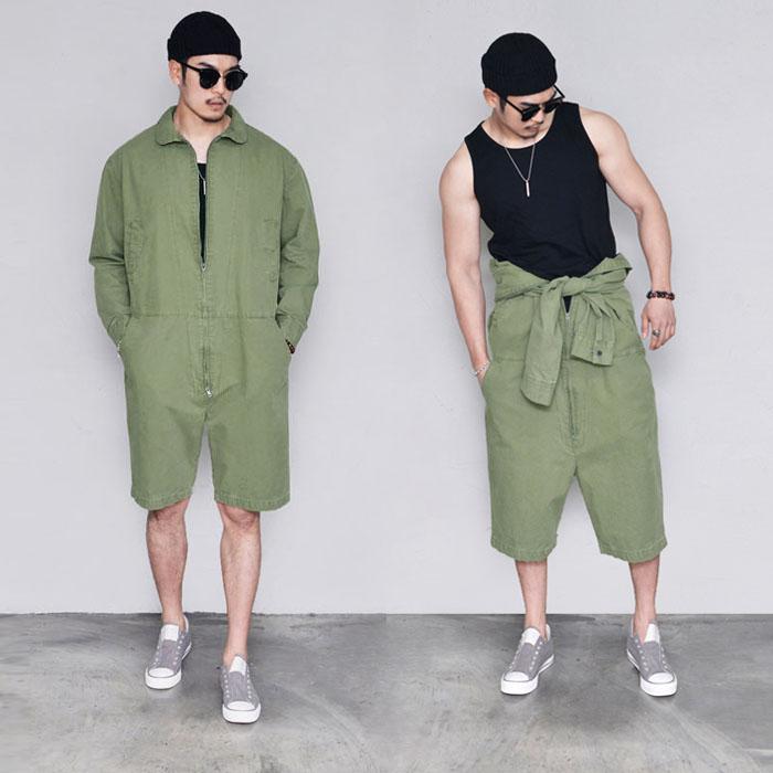 Jungle Half Jumpsuit-Pants 565