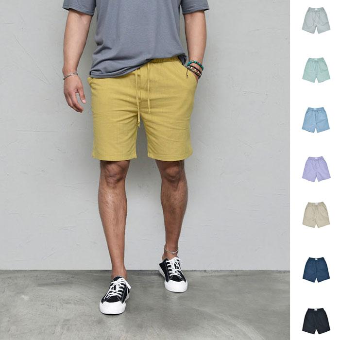 Bio Washed Daily Linen-Shorts 241