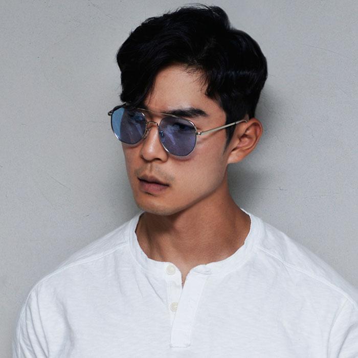 Retro Vibe Tint Aviator-Sunglasses 127