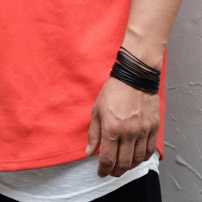 20pcs Set Rubber Cuff-Bracelet 493