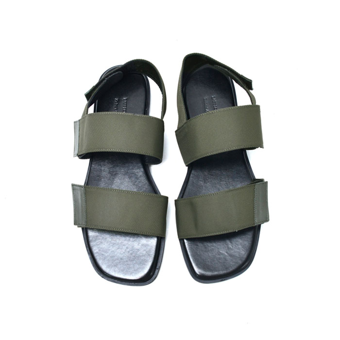 Leather Lining Velcro Sandals-Shoes 820