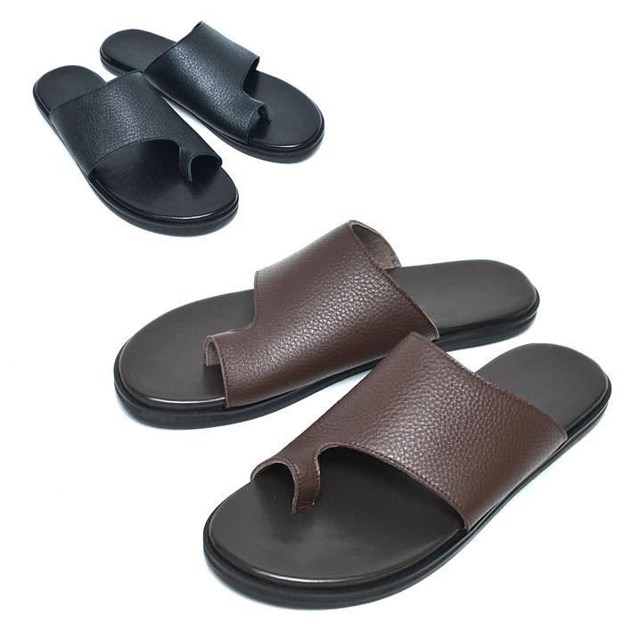 Whole Grain Leather Sandals-Shoes 821