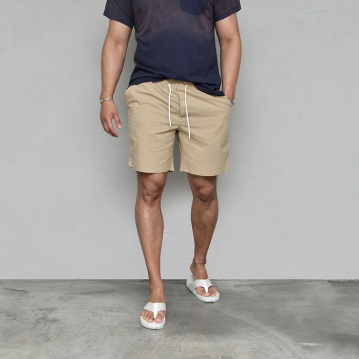 Light-weight Daily Linen-Shorts 261
