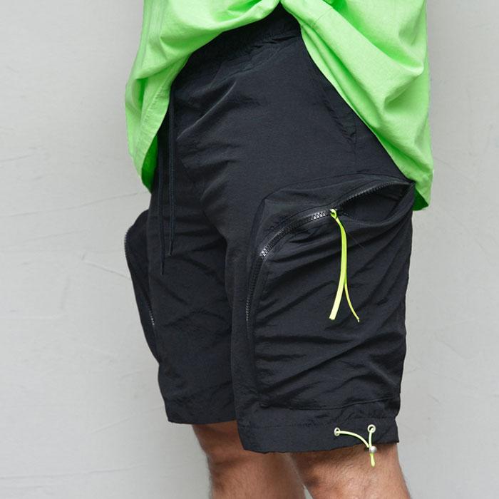 Zip Cargo Pocket Shorts-Shorts 262