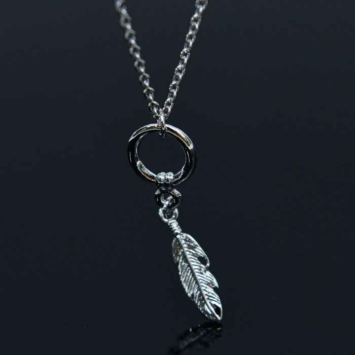 Ring Leaf Chain-Necklace 400