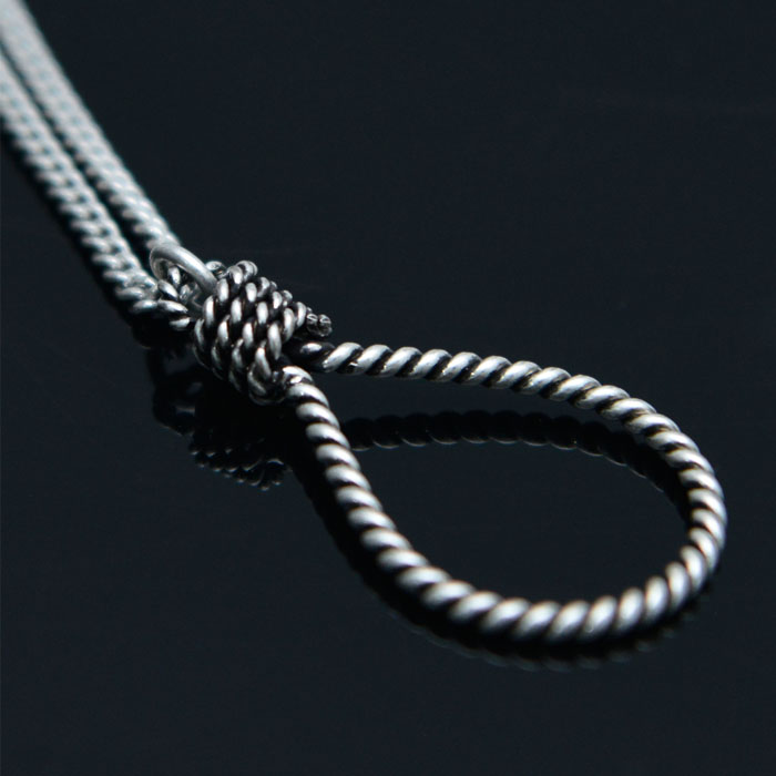 Rope Trap Steel-Necklace 504