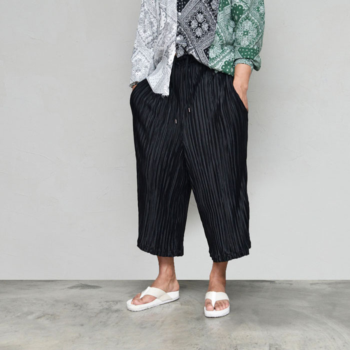 Avant-garde Fleats Crop Wide-Pants 599
