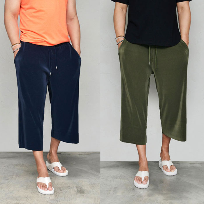 Silky Smooth Super Fleated Crop-Pants 600