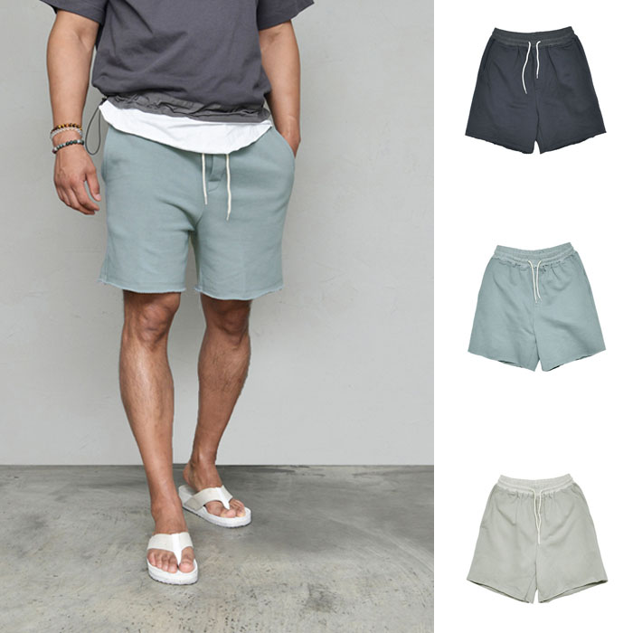 Daily Washing Jersey Shorts-Shorts 267