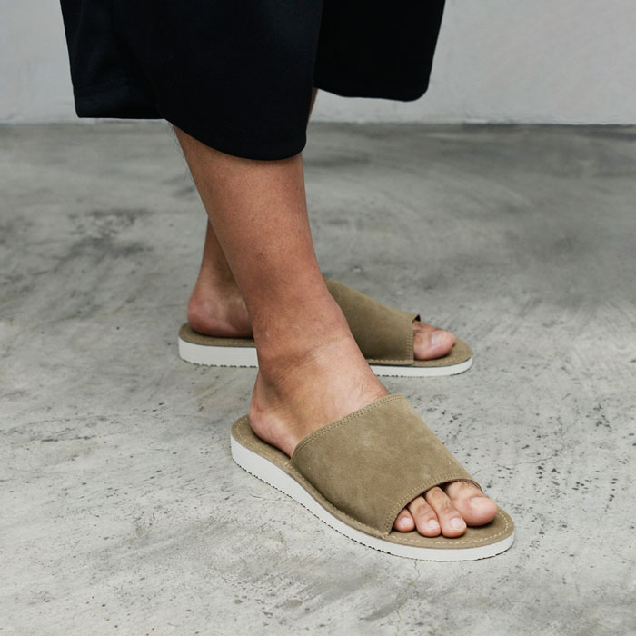 Sleek Suede Leather Sandals-Shoes 829