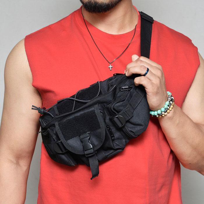 Sporty Cross Hipsack-Bag 233