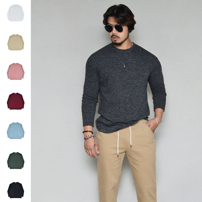 Smooth Slim Cut Daily Knit-Knit 250