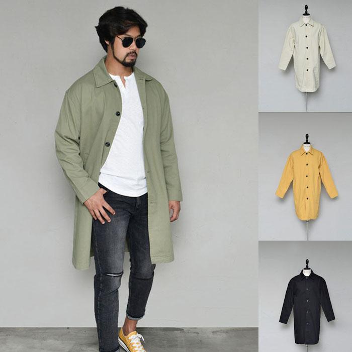 Bio Washing Daily Long Jacket-Coat 172