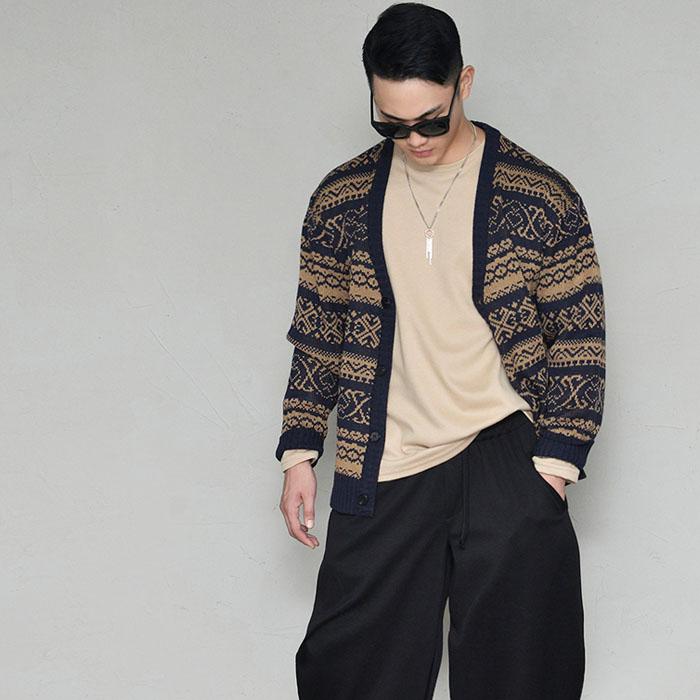 Classy Designer Look Loose Fit Sweater-Cardigan 313