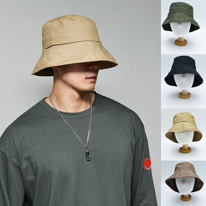 Vintage Washing Fall Bucket-Hat 125