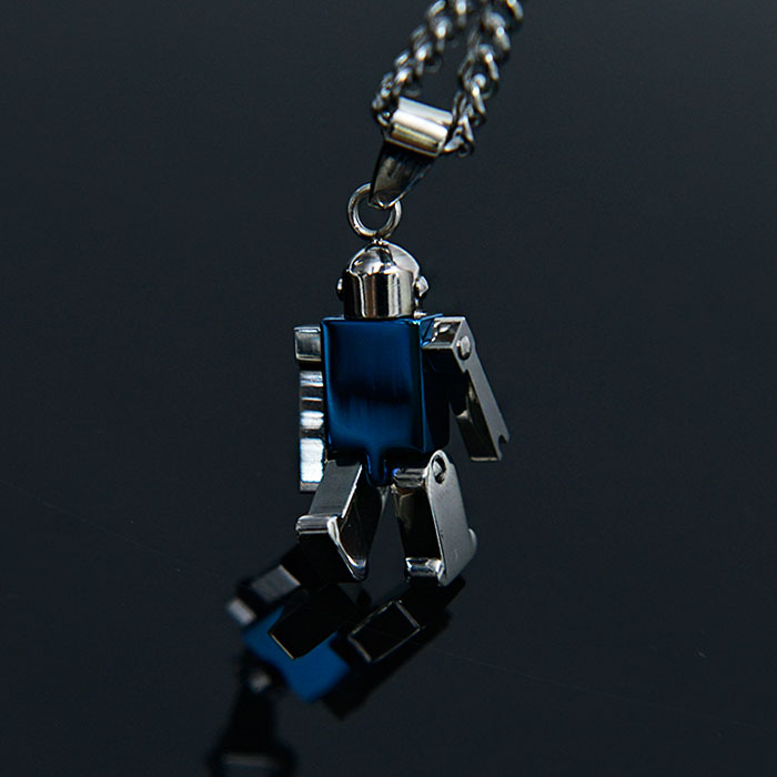 Lego Steel Robot Chain-Necklace 411