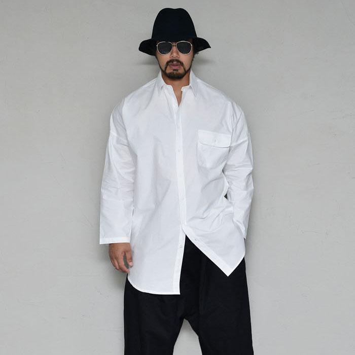Avant-garde Loose Fit Long Shirt-Shirt 333