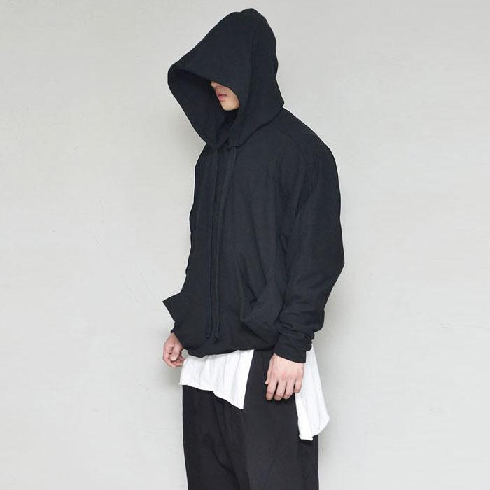 Volume Pocket Overfit Hood-Hoodie 353